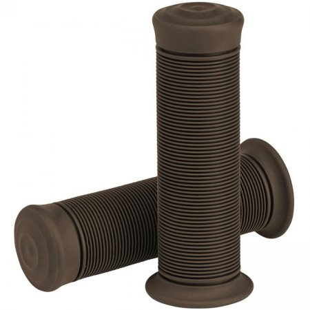 "Biltwell Kung Fu Motorcycle Grips Chocolate 7/8"" - 22 mm"