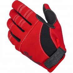 Biltwell Moto Gloves Black-Red