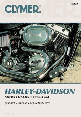 Clymer Update Repair Manual HD Shovelhead 1966-1984 M420