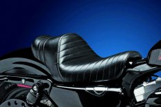 LePera Stubs Spoiler Solo Seat Black for Sportster XL 04-06 & 10-17