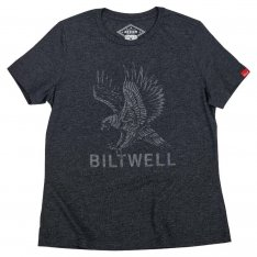 Biltwell Women's Freedom Tee Black Tri-Blend