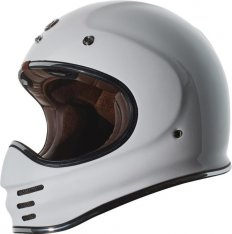 TORC T-3 MX Full Face Helmet Gloss White