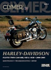 Clymer Update Repair Manual HD Softail Twin Cam 2000-2005 M423-2