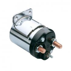 Starter Solenoid Single Bracket Plain