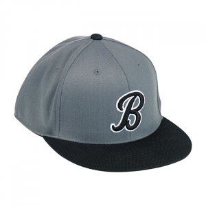 Biltwell B Fitted 210 Hat Black Grey