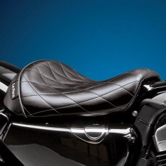 Le Pera Bare Bones Solo Seat Diamond Stitch for Sportster XL 82-03