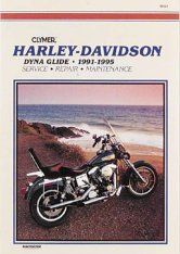 Clymer Update Repair Manual HD Evolution Dyna Glide 91-98 M424