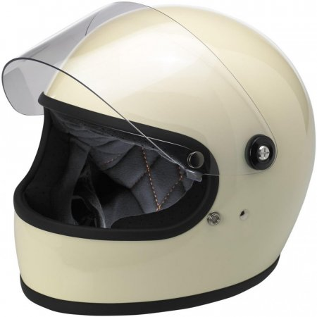 Biltwell Gringo S Flat Shield Clear Anti Fog