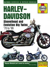 Haynes Service & Repair Manual Shovelhead & Evolution Big Twin 70-99