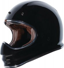TORC T-3 MX Full Face Helmet Gloss Black