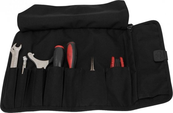 Burly Voyager Tool Roll Cordrura Black without Tools