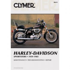 Clymer Repair Manual HD Sportster 1959-1985 M419