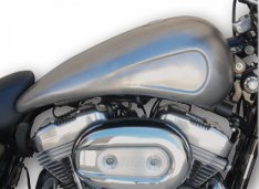 Sportster Stretched indented 4 Gal Tank XL 07-17