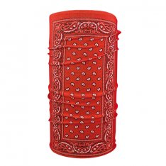 Zanheadgear Motley Tunnel Red Paisley