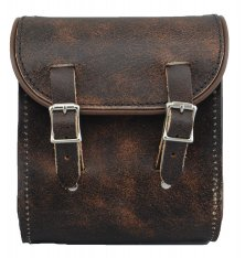 La Rosa Universal Leather Sissy Bar Bag Brown
