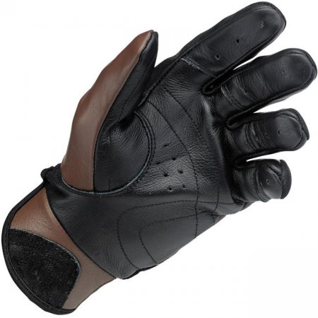 Biltwell Bantam Gloves Chocolate-Black