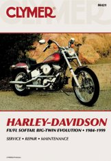 Clymer Update Repair Manual HD Softail Big Twin L84-99 Rigid M421