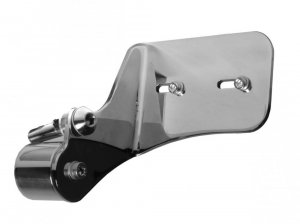Thunderbike Sportster Side Mount License plate short polished