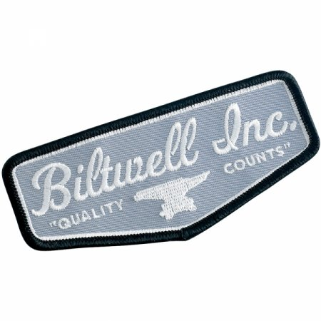 Biltwell Shield Patch Grey