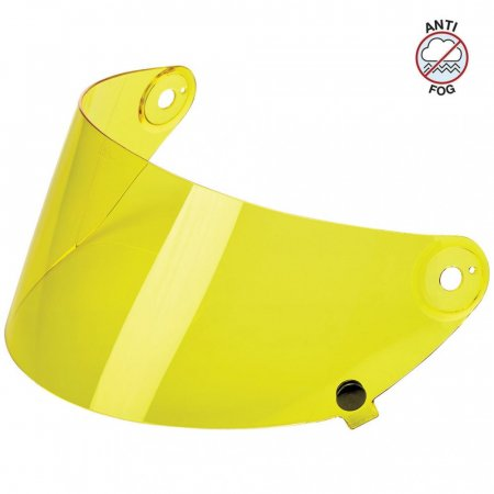 Biltwell Gringo S Flat Shield Yellow Anti Fog
