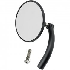 Biltwell Utility Mirror Round Perch Mount Black