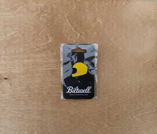 Biltwell Gringo Yellow Enamel Pin
