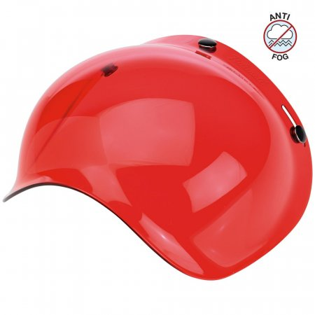 Biltwell Bubble Shield Red Solid Anti Fog