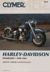 Clymer Update Repair Manual HD Panhead 1948-1965 M418