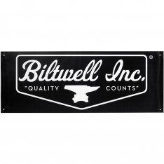 Biltwell Shop Banner Logo Black White
