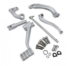 Forwarded Mid-Control Kit Chrome for Sportster XL 14-18