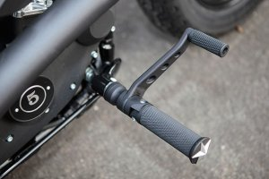 "Thunderbike Aluminum Forward Controls with ""Base Rubber"" Pegs for Sportster"