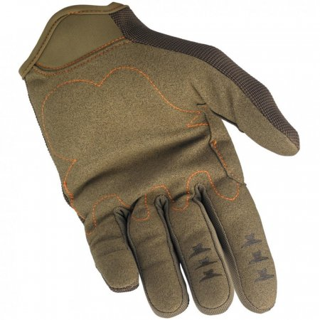 Biltwell Moto Gloves Brown Orange