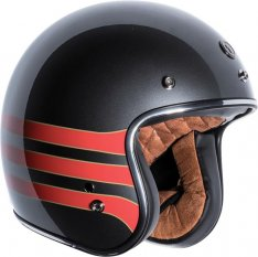 TORC T-50 Helmet Metallic Wine