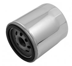 Motor Factory Oil Filter Chrome for Twin Cam model OEM 63798-99