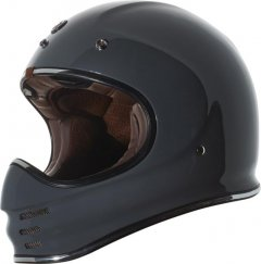 TORC T-3 MX Full Face Helmet Gloss Grey