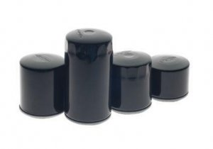 RevTech Magnetic Oil Filter Black Long for Twin Cam OEM 63798-99