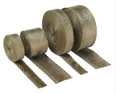 DEI Exhaust Wrap Titanium 1″ x 50ft - 25,4mm x 15,2m