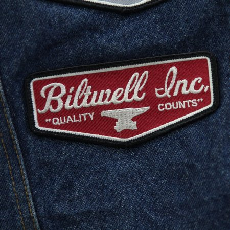 Biltwell Shield Patch Red