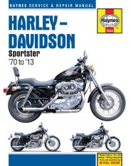 Haynes Service & Repair Manual Sportster 70-13