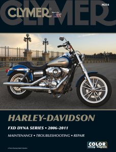 Clymer Update Repair Manual HD Dyna FXD 2006-2011 M254