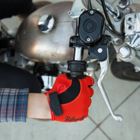 Biltwell Moto Gloves Black-Orange