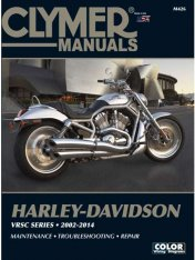 Clymer Update Repair Manual HD VRSC 2002-2014