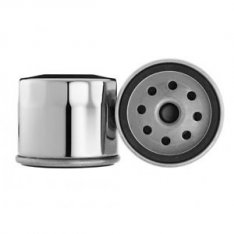 Motor Factory Oil Filter Short Chrome for Sportster & Big Twin model OEM 63782-80