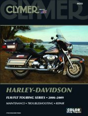 Clymer Update Repair Manual HD FLH/FLT Touring 2006-2009 M252