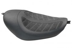 Mustang Fred Kodlin Signature Seat Black for Sportster XL 04-06 & 10-17