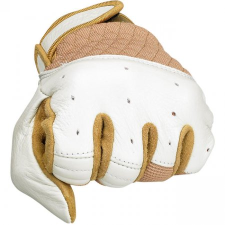 Biltwell Bantam Gloves White-Tan