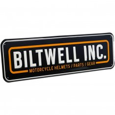 Biltwell Rectangle Shop Sign