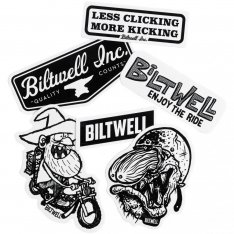 Biltwell Fartco Sticker Pack